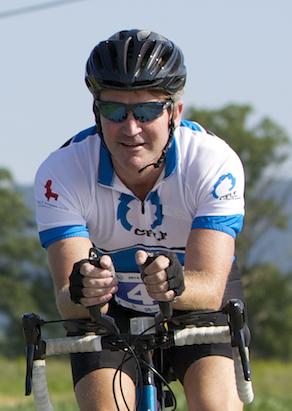Brian cycling