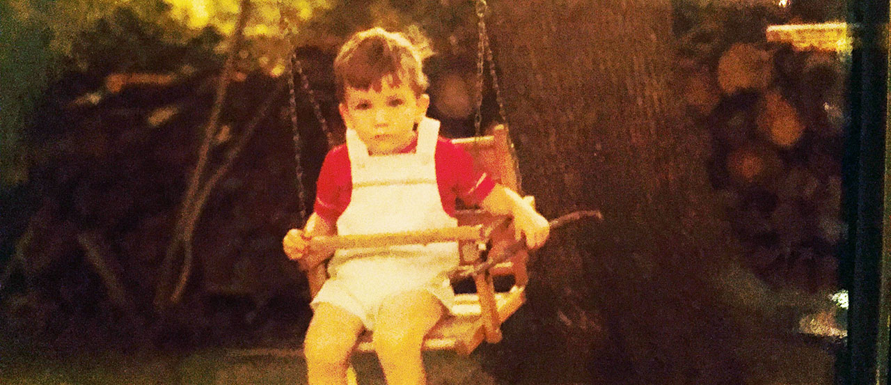 Brian in the swing
